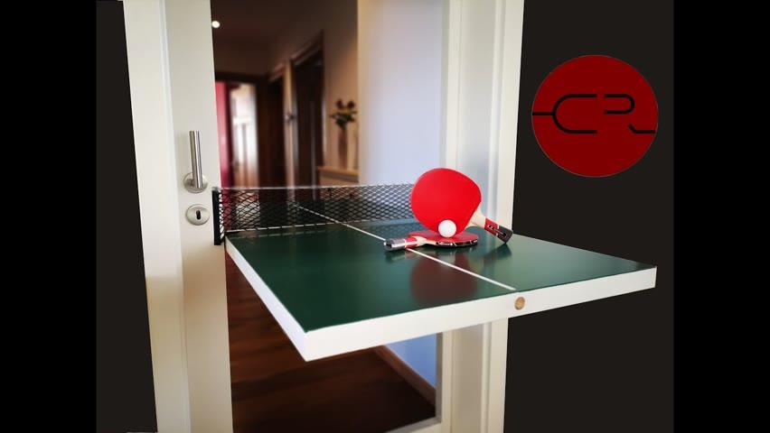 DIY Table Tennis  Door / Ping Pong Table