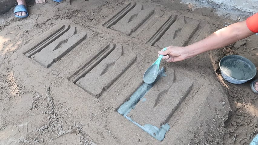 Ideas Making a Plant Pot With Terracotta Tiles And Cement at Home - Decoration Garden