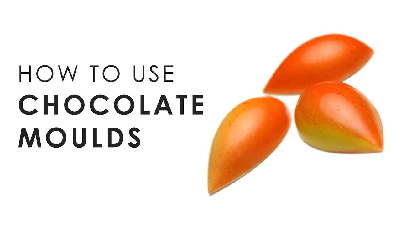 How to use Chocolate Moulds   Savour Chocolate & Patisserie School