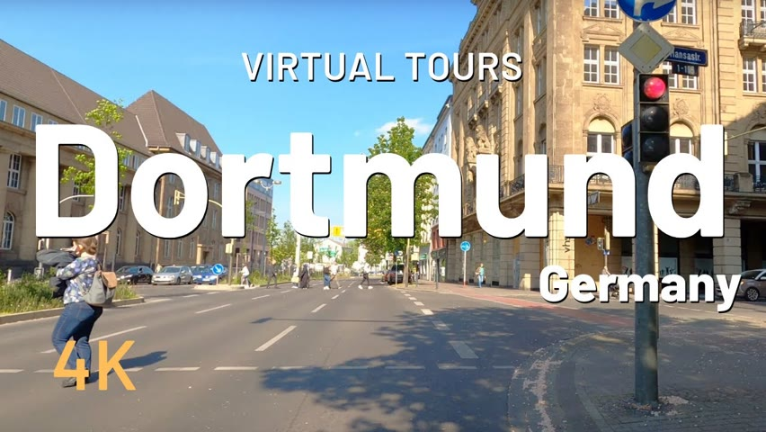 DORTMUND driving tour 🇩🇪 Germany || Best Place in Germany 4K Video Tour
