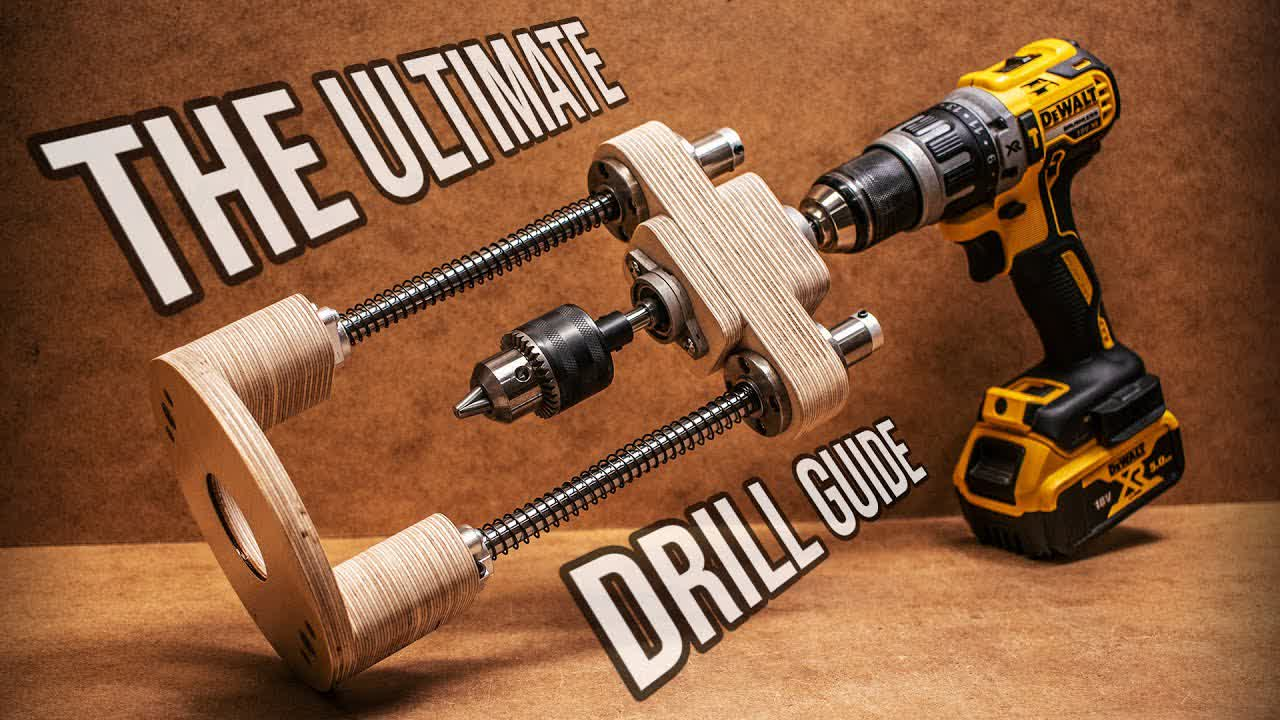 Make the ULTIMATE Drill Guide with CNC Parts!
