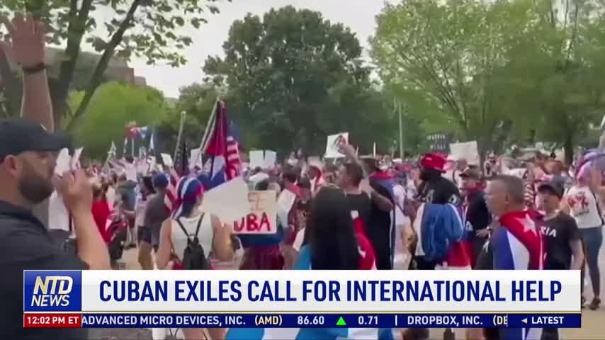 Cuban Exiles Call for International Help