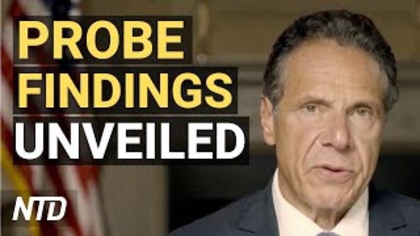 Investigation Finds NY Gov. Cuomo Sexually Harassed Women; Biden Extends Trump-Era Migrant Policy