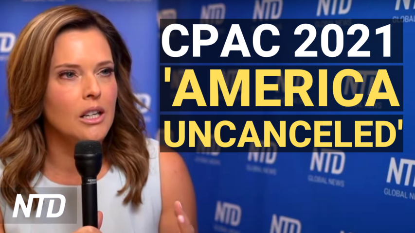 CPAC 2021: America Uncanceled; WH Clarifies Vaccine Plan; MMA Champ Fundraises for Surfside Victims