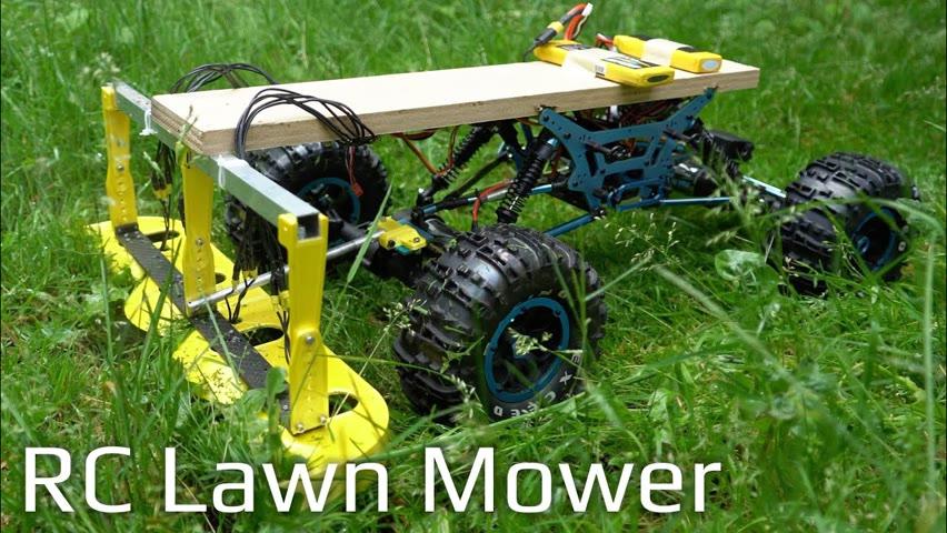 RC Lawn Mower - RCTESTFLIGHT