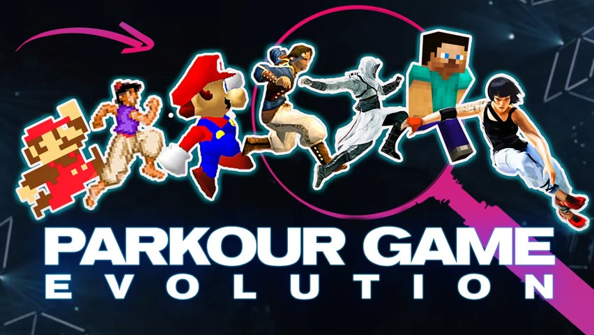 40 Years of Parkour Game Evolution in 15 Mins
