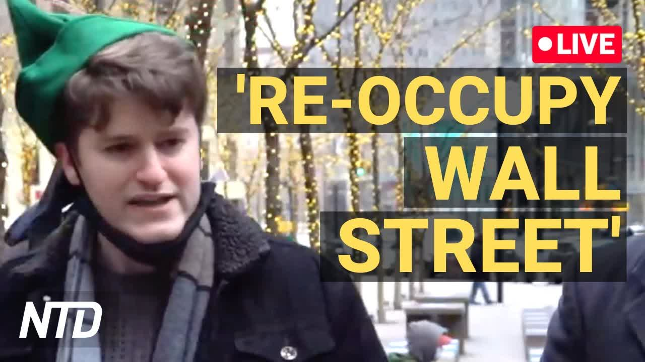 LIVE: NY Young Republicans Hold 'Re-Occupy Wall Street' Protest After GameStop Frenzy (Jan. 31)