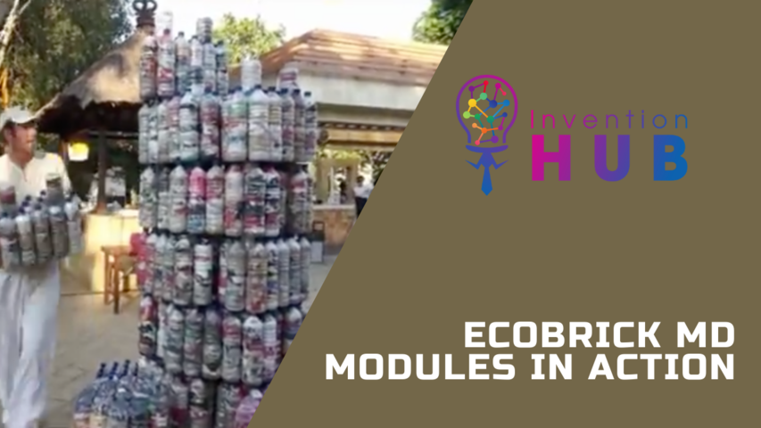 Ecobrick MD Modules in Action