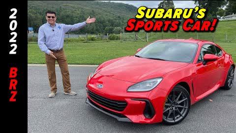 2022 Subaru BRZ First Drive