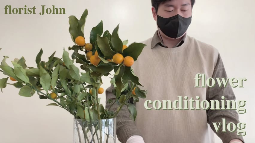 [ENG][꽃멍 vlog #1] 꽃힐링 꽃멍 이렇게 좋았구나 / Flower conditioning vlog #1 : Enjoy beautiful flowers