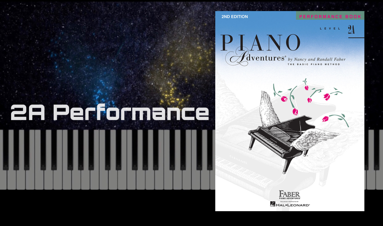 Dance Theme and Variation - Piano Adventure 2A Performance - Page 4-5