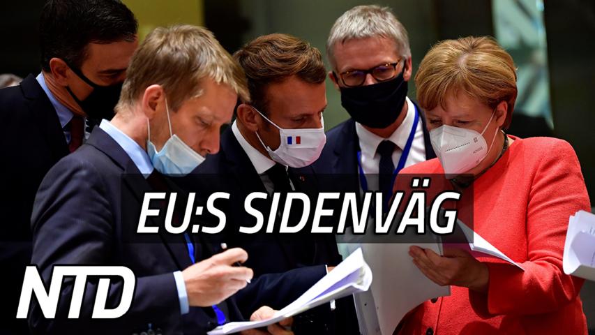 EU försöker konkurrera med Kinas nya Sidenväg | NTD NYHETER
