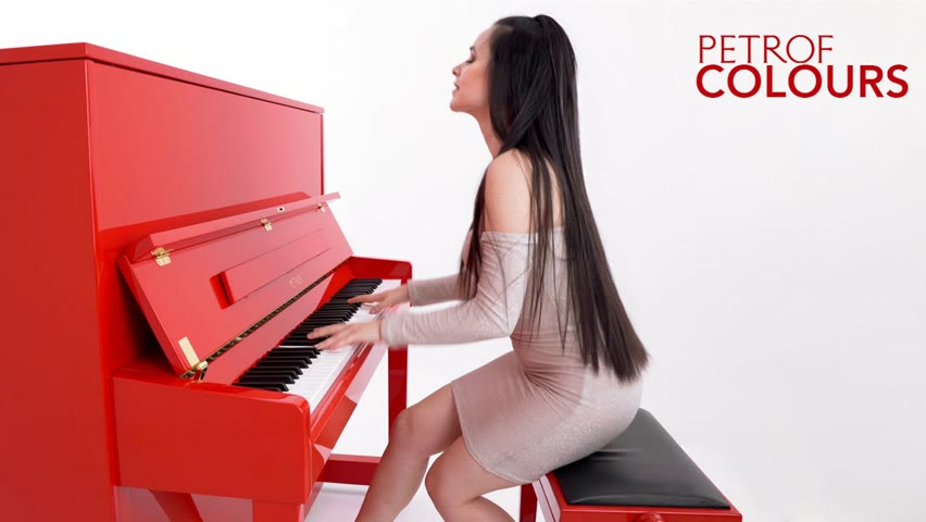 Queen - We Are The Champions | Piano Cover by Yuval | PETROF COLOURS