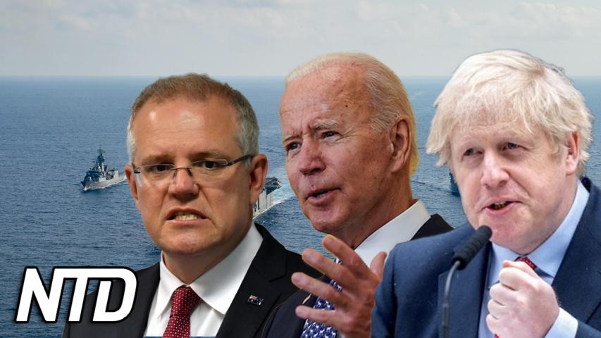 USA, Storbritannien och Australien bildar ny säkerhetspakt | NTD NYHETER