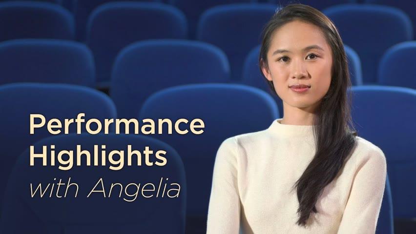 Performance Highlights with Angelia Wang