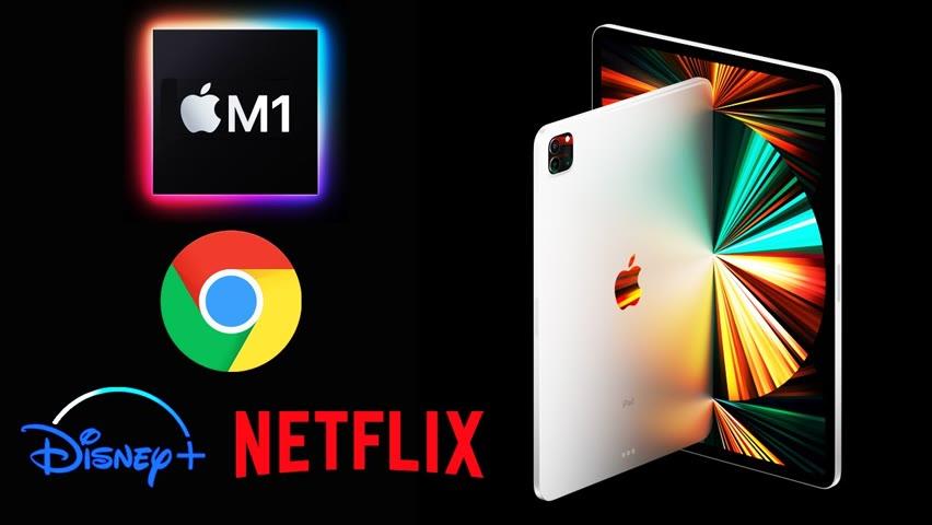 NEW iPad Pro 2021 - Chrome Browsing, 20+ Tabs, 4K Streaming, Multitasking Review Test