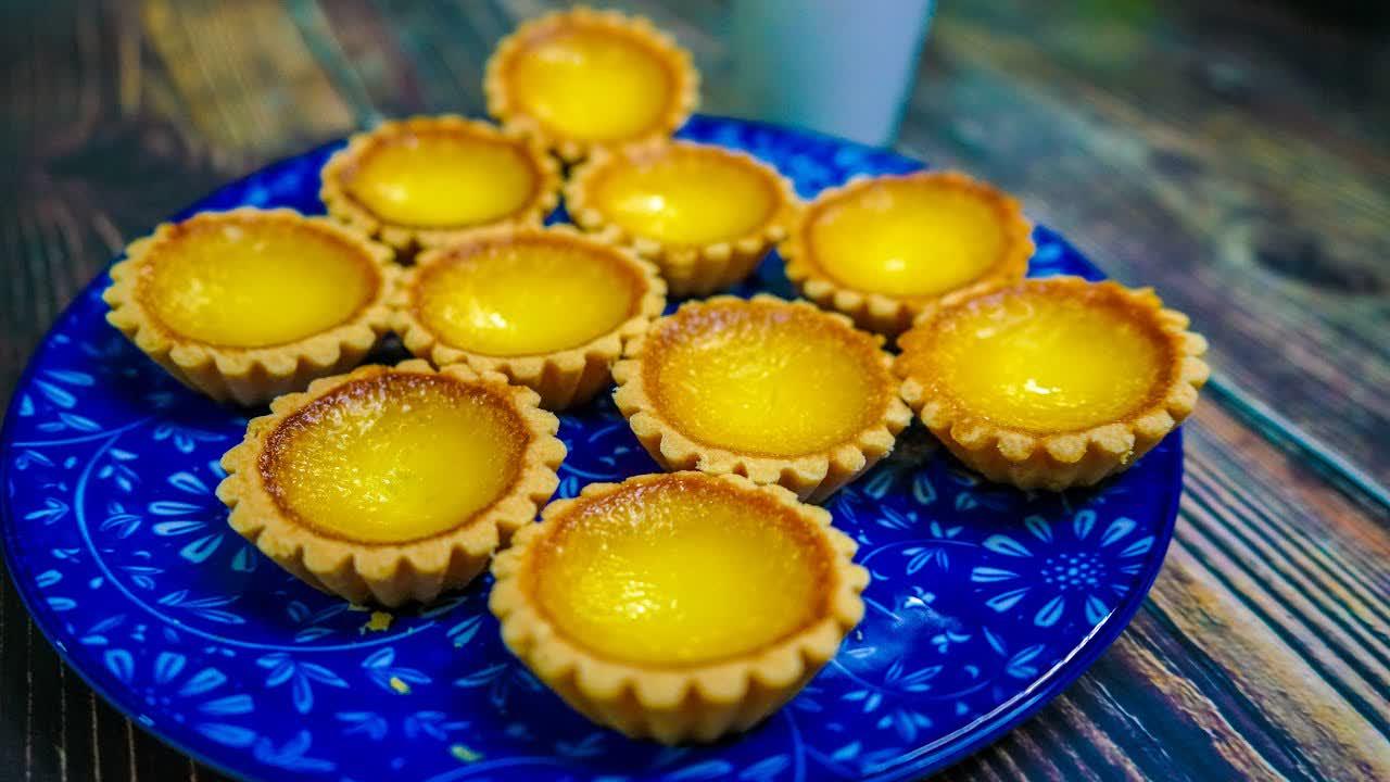 Resepi Tart Telur   Egg Tart   MyDapur Panas