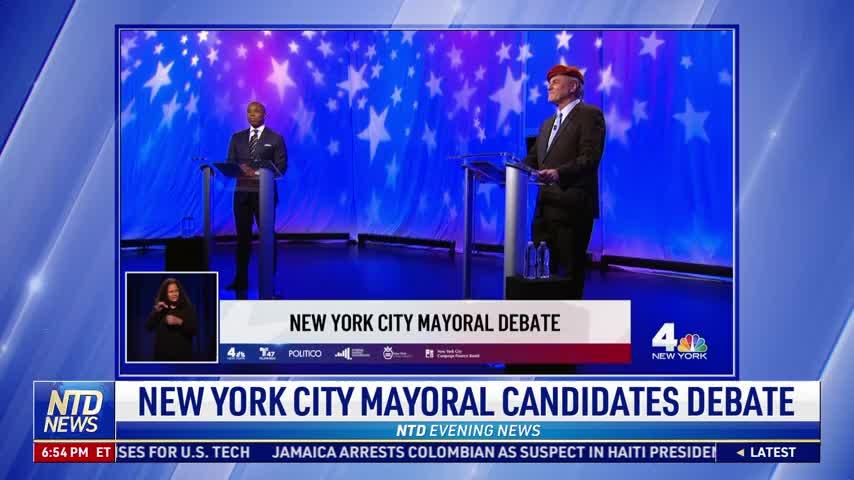 New York City Mayoral Candidates Debate