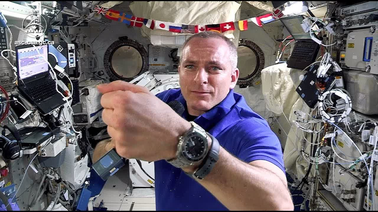 Astronauts' watches – Questions and answers with David Saint-Jacques live from space