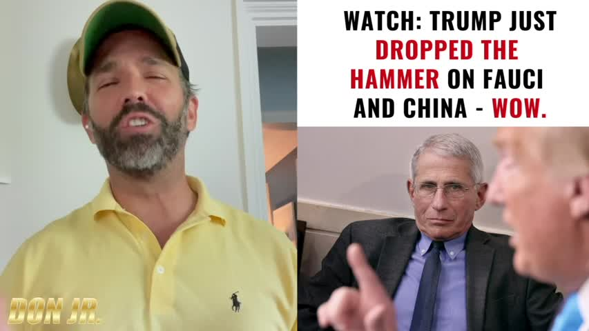 BREAKING  Trump Just Dropped The Hammer On Fauci And China