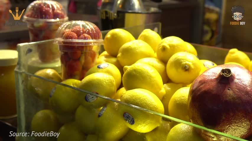 Light Bulb Lemonade - Korean Street Food