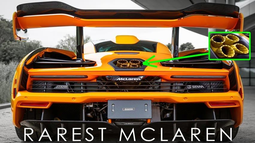 Top 10 Most Expensive & Rare MCLAREN Cars Ever Made