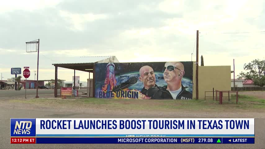 Rocket Launches Boost Tourism in Texas Town