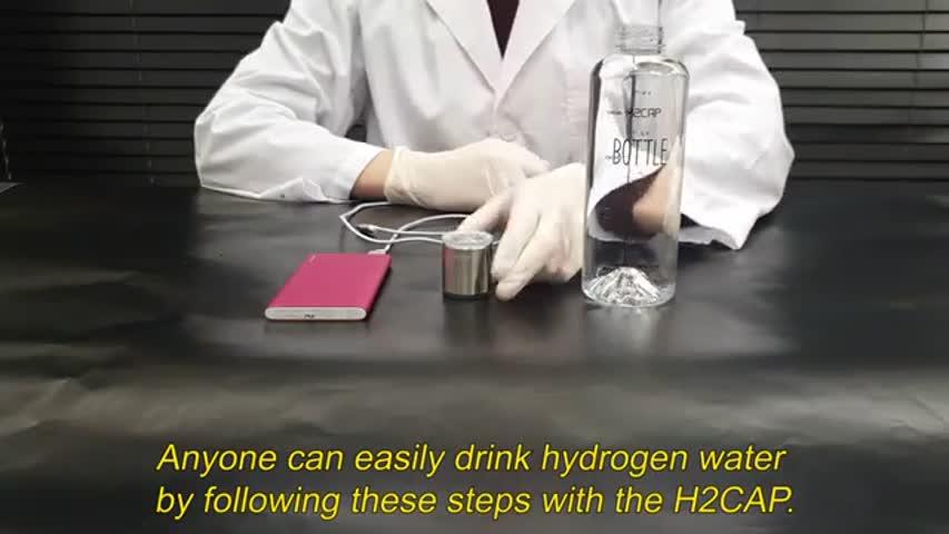 H2cap plus hydrogen generator operation