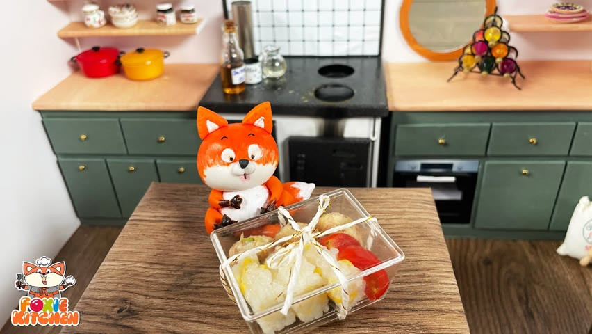 [ENG SUB] - Lunch box #4 - Tuesday Bento   Mini Cooking