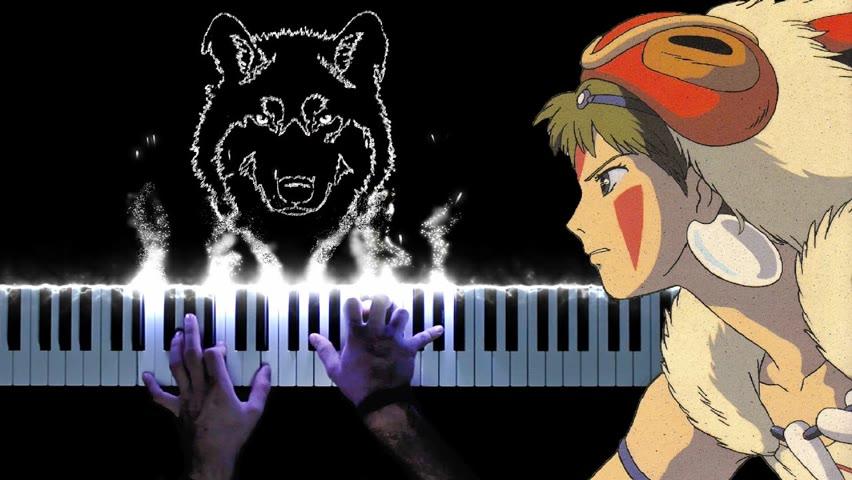 Princess Mononoke Theme   Solo Piano