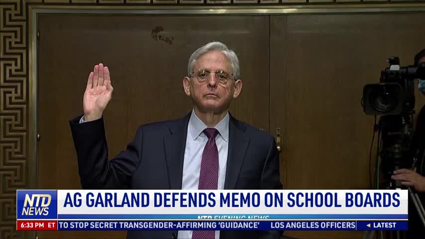 Merrick Garland Defends Memo on School Boards