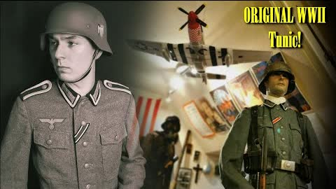 ORIGINAL German WW2 M42 Wehrmacht Tunic - REVIEW - History up Close! ( Had to Wear it )