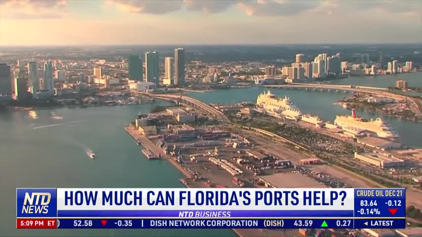 Florida Offers Ports to Help Congestion in California; How Much Could It Help?