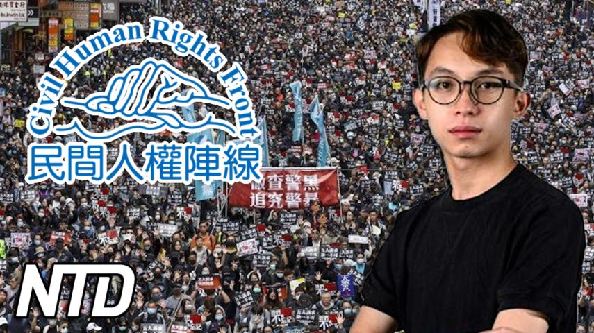 Hongkongs största prodemokratiska grupp löses upp | NTD NYHETER