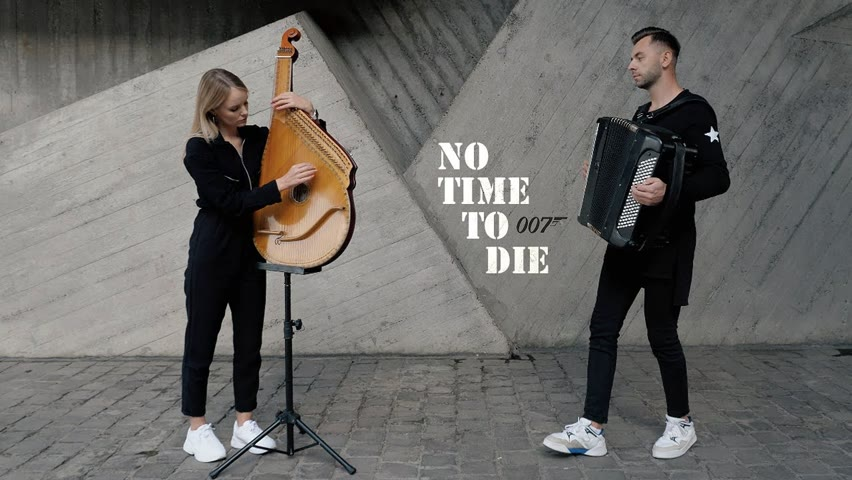 Billie Eilish - No Time To Die | Bandura and Accordion Cover