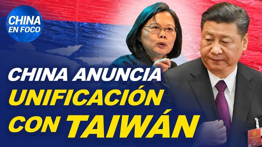 China anuncia reunificación con Taiwán. La isla dice que no se someterá al régimen comunista