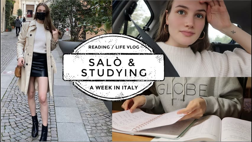 A WEEK IN MY LIFE: Visiting Salò, Studying Italian, Reading   VLOG
