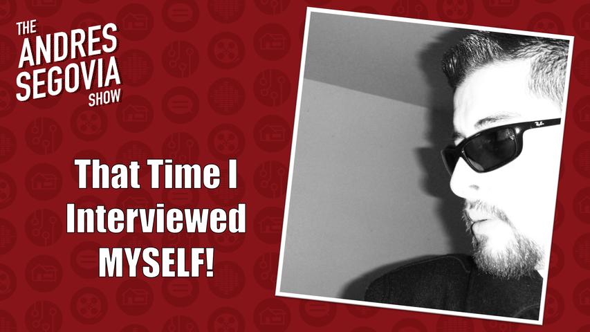 That Time I Interviewed Myself!