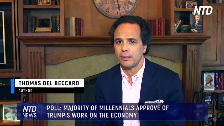 POLL MAJORITY OF MILLENNIALS APPROVE OF TRUMP'S WORK ON THE ECONOMY