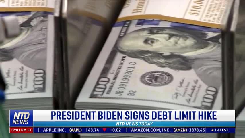 President Biden Signs Debt Limit Hike