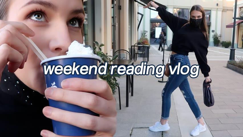 WEEKEND VLOG 📖: Reading, hot chocolate, lockdown blues
