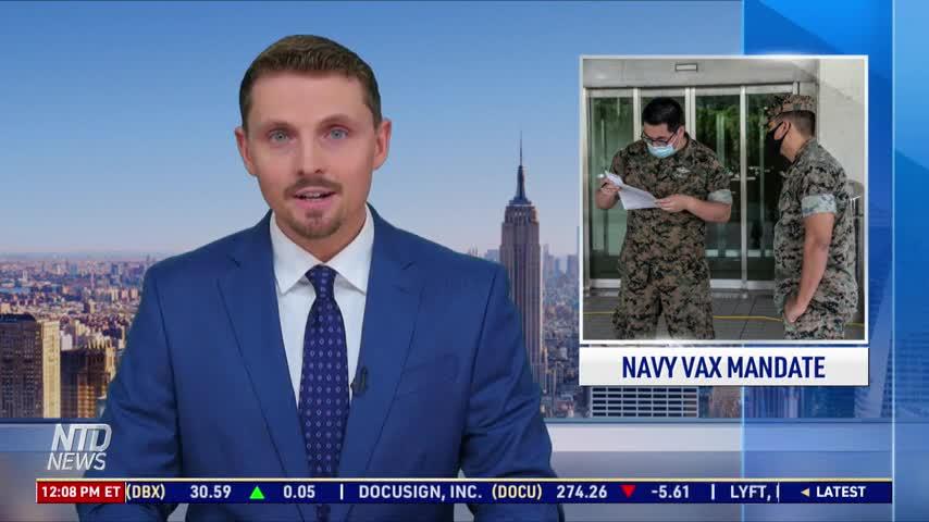 Navy Vaccination Order Unconstitutional: Attorney