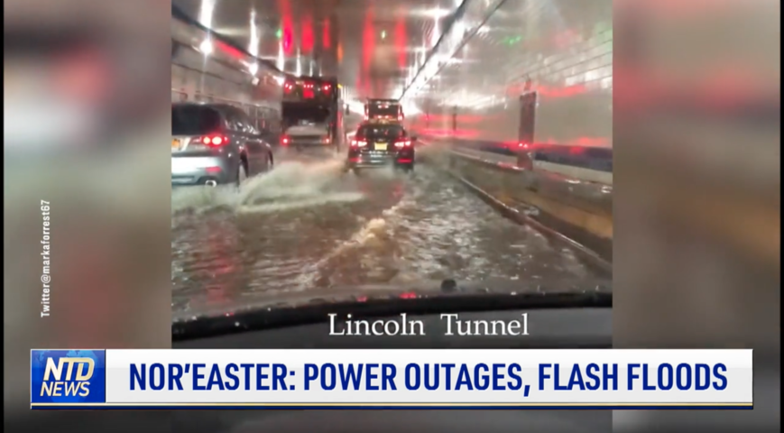 Nor'easter: Power Outages, Flash Floods