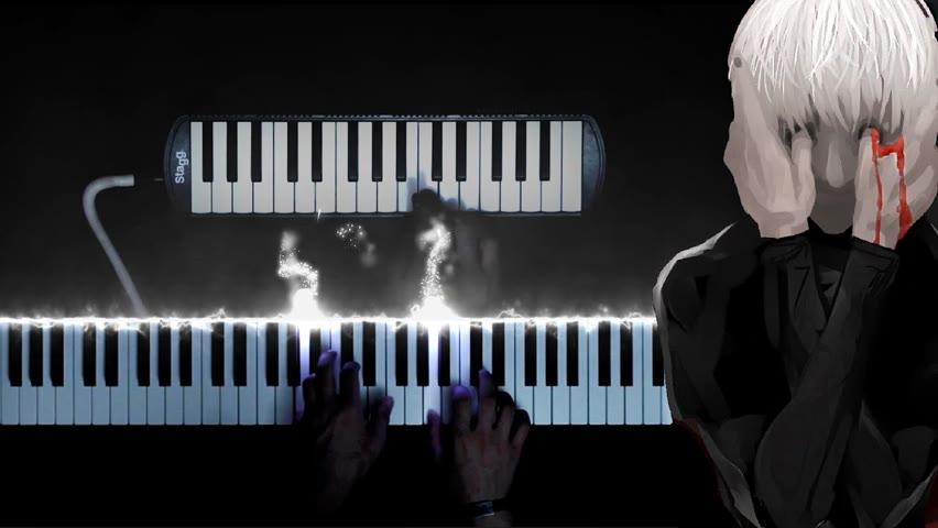 Piano + melodica + unravel = ???