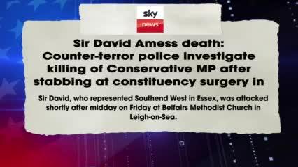 UK Parliament Member Stabbed
