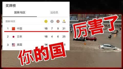 我不在乎奥运会得多少金牌,我只在乎小民尊严和郑州水灾;