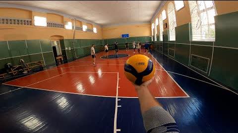 Волейбол от первого лица | VOLLEYBALL FIRST PERSON | POV | 126 episode