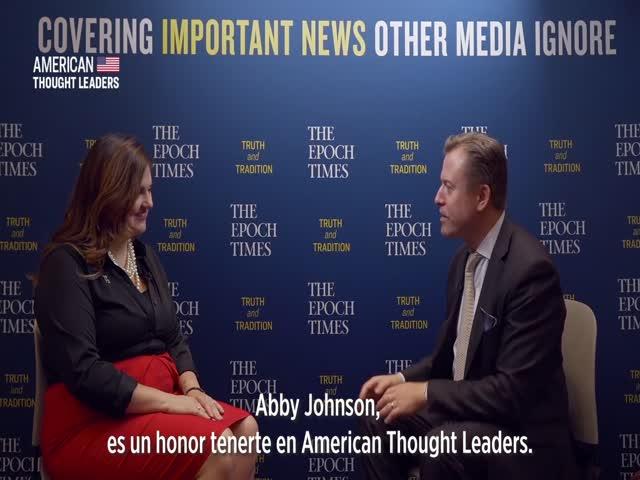 Abby Johnson, la inspiración para la película no planificada, sobre el creciente movimiento pro-vida