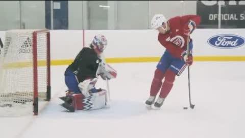 NHL Practice Trickshots
