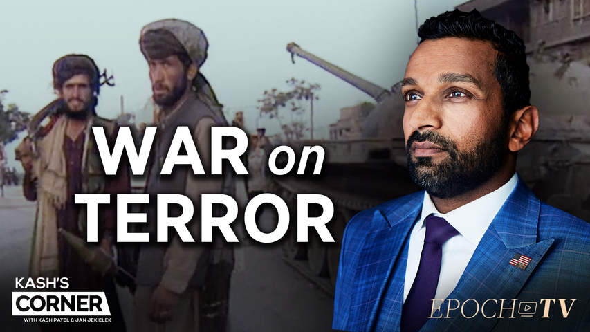Kash's Corner: Is America Safer Than 20 Years Ago From Terrorism? | CLIP